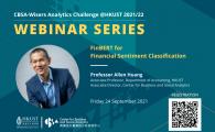 Analytics Challenge Webinar Series  - FinBERT for Financial Sentiment Classification