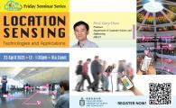 GSCI Friday Seminar Series -Location Sensing Technologies and Applications