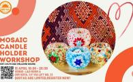 Mosaic Candle Stand Workshop