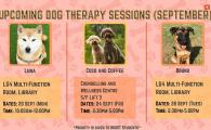 28/9 September Dog Therapy Session