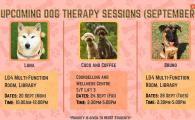 24/9 September Dog Therapy Session