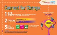 Connect for Change - idea competition for social good
