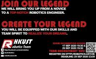 HKUST Robotics Team Member Recruitment – Online Information Session - HKUST Robotics Team Member Recruitment – Online Information Session