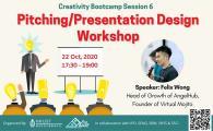Creativity Bootcamp - Pitching/ Presentation Design Workshop