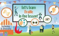 Let's Learn Braille in One Lesson!