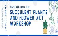 SEN Festival 2021 - Succulent Plants and Flower Art Workshop