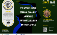 Strategies in the struggle against Apartheid Authoritarianism in South Africa
