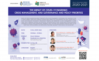 Crisis management, and governance and policy priorities