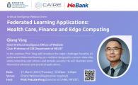 Health Care, Finance and Edge Computing