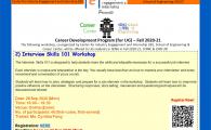 IEI, SENG X CC Career Development Program (for Engineering UG Students) - Fall 2020-21  - Interview Skills 101 Workshop