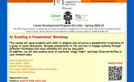 IEI, SENG X CC Career Development Program (for Engineering UG Students) - Spring 2020-21  - 'Excelling in Presentation' Workshop