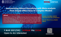 From Simple Effect Sizes to Complex Models