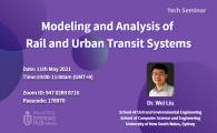 Modeling and Analysis of Rail and Urban Transit Systems