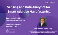 Sensing and Data Analytics for Smart Additive Manufacturing