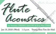 Flute Acoustics by Vanessa CHEUNG, Sybil WU & King Wan CHAN