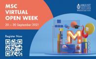 MSc Virtual Open Week (20 Sep - 30 Sep 2021)