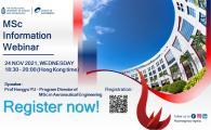 School of Engineering MSc Information Webinar