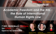 the Role of International Human Rights Law